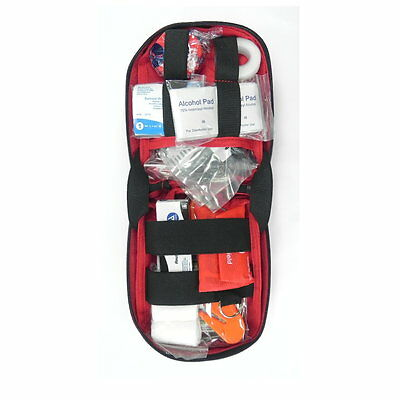 Basic First Aid Kit for Cars or Camping- Select bag color