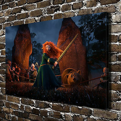 Disney Brave Merida HD Canvas Print Home Decor Paintings Wall Art Pictures