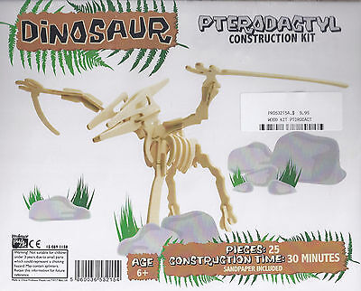 Wooden Dinosaur Construction Kit Pterodactyl Pro532154
