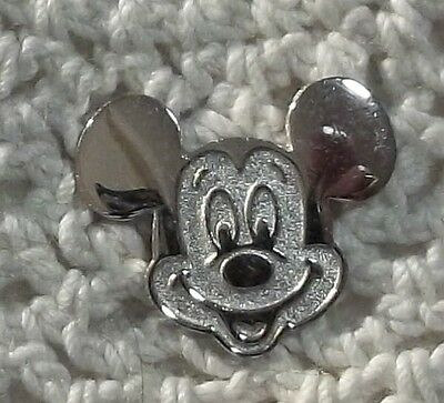 Sterling Silver DISNEY Mickey Mouse Tie Tac Pin