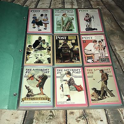 1993 Norman Rockwell Collector Cards COMPLETE SET 90-CARDS ~ EXCELLENT CONDITION