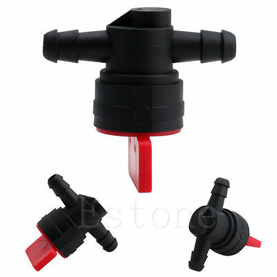 "1Pc 1/4"" InLine Straight Fuel Cut-Off Shut-Off Valve For STRATTON & BRIGGS YF"