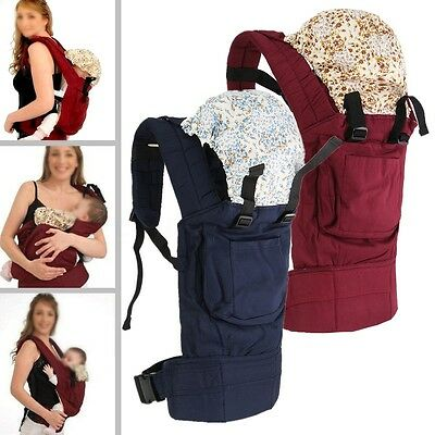 Infant Baby Toddler Carrier Breathable Ergonomic Adjustable Wrap Sling Backpack