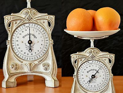 Old Style, Vintage, Antique, Shabby Chic, German Kitchen Scale - SNOW WHITE