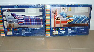 **BNIP** 2 x Higgledee Quilt Cover Set – Single Bed