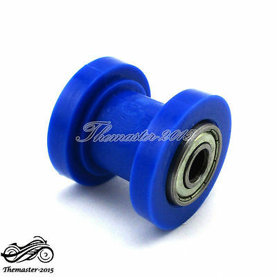 8mm Blue Chain Tensioner Roller For Chinese XR CRF 50 SSR KLX110 Pit Dirt Bike