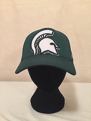 NCAA Michigan State Spartans OSFA Memory Fit Fitted Hat by Top of the World