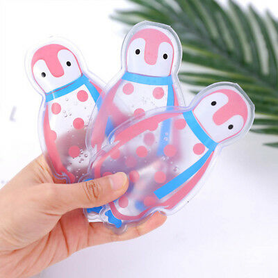 Thicken Reusable Pain Relief Gel Ice Bag Penguin Cool Pack Summer Cooler Bags