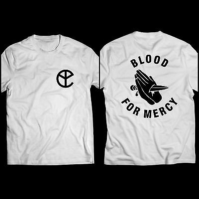 Yellow Claw Blood For Mercy Album World Tour White T Shirt Tee
