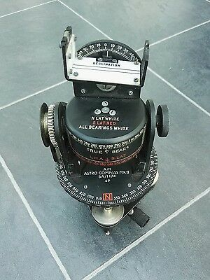 AM ASTRO COMPASS MKII 6A/1174 4P Lancaster bomber military RAF
