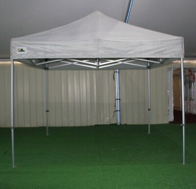 GALA TENT 3m x 3m Pro-40™ Gazebo Pop-Up Commercial Market Stall (GREY)