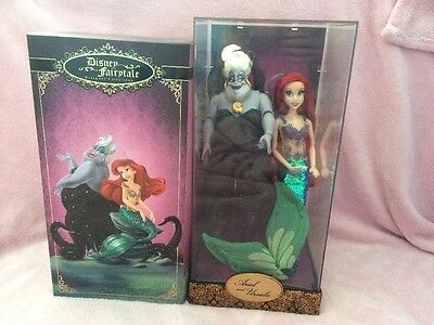 Disney Fairytale Designer Collection Ariel And Ursula Limited Edition Doll Set