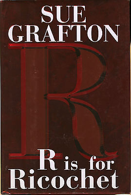 SIGNED * lot of three SUE GRAFTON books * R Is for RICOCHET * L is for LAWLESS