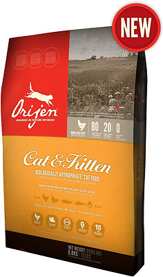Orijen cat food with chicken is made from fresh Canadian ingredients indep