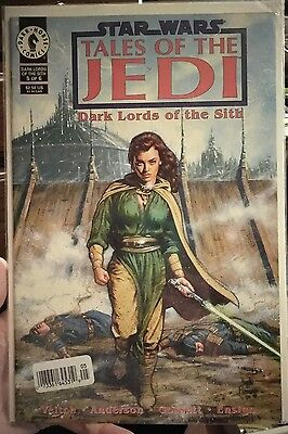 Star Wars: Tales of the Jedi Dark Lords of the Sith Dark Horse Comic #5