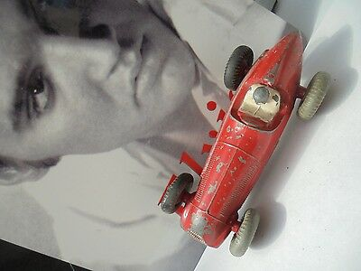 Vintage 1950s Dinky Toys No.232 Alfa Romeo Racing Car (Grey Tyres)