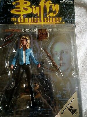 Buffy The Vampire Slayer-Buffy Exclusive Action Figure-New And Boxed