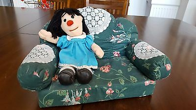 Big Comfy Couch Molly & Couch Rare Vintage