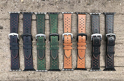 Quality Vintage Leather Watch Strap Band for Apple Watch Series 1 2 3 38mm 42mm