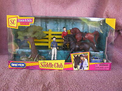 Breyer Stablemate SM #5503 Stevie & Belle Found Horse Set -NRFB!