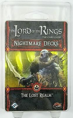 NEW The Lord of the Rings THE LOST REALM Nightmare Decks - UK SELLER