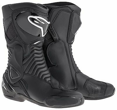 Alpinestars SMX 6 Black Motorcycle Boots (rrp £179.99) ***Now £124.99***