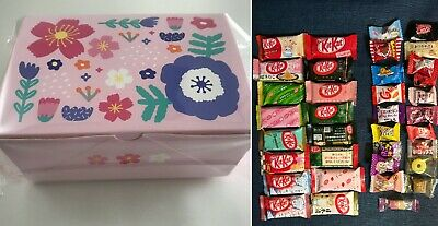 36pc Japanese Sweets Gift Box Set (16 Kit Kat + 20 Candy) Snacks Japan kitkat