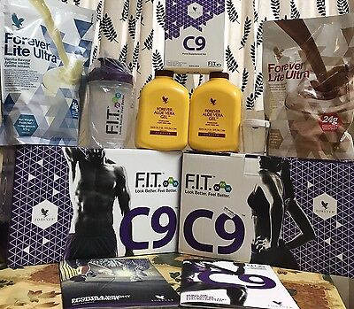 Forever Living-new Clean 9 Pack-C9 Kit Cleanse 9 Day Sexton Chocolate Or Vanilla