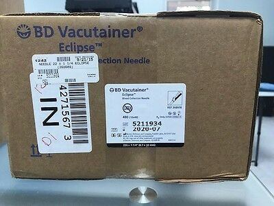 BD Vacutainer Elipse Blood Collection Needle (10 boxes)