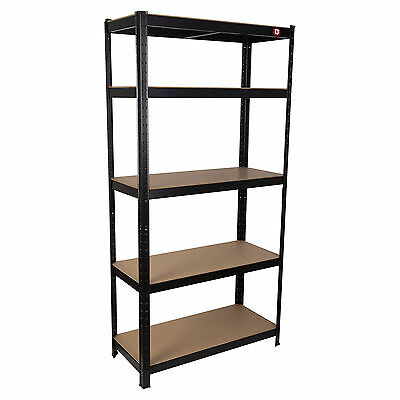 Heavy Duty Metal Garage Shelving Racking Unit Storage Rack Boltless Shelf 180cm