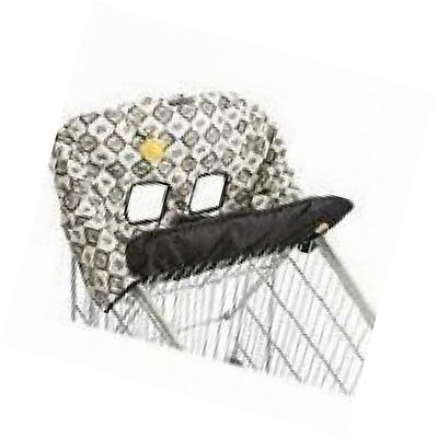 Infantino Baby Cart Cover Black Lace Unisex with Soothing Teether