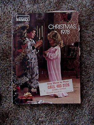 Vintage 1978 Montgomery Ward Christmas Catalog 460 Pages