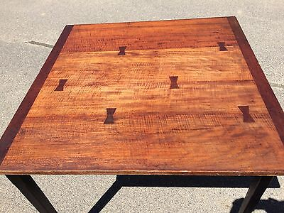 Beautiful Antique Dovetail Maple Folding Table