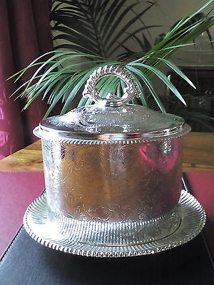 A Vintage reproduction Silver Plated Tea Caddy