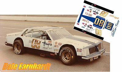 CD_2908 #08 Dale Earnhardt  Pontiac Lemans  1:24 Scale Decals
