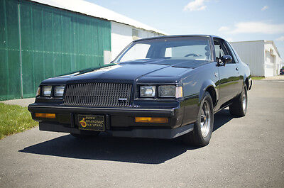 1987 Buick Grand National  1987 Buick Grand National