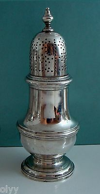 Antique Tiffany & Co Makers 925 Sterling Silver Elegant Salt Pepper Shaker