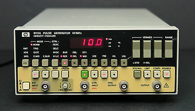 HP Keysight 8112A 50 MHz Pulse Generator