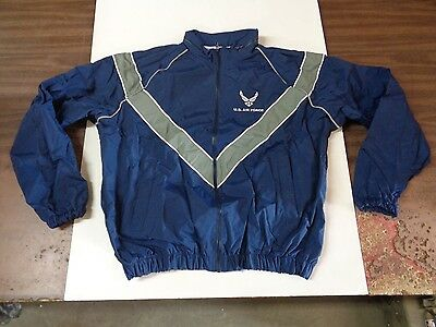 NEW USAF Air Force Physical Fitness Training PT Windbreaker Jacket Variety Sizes