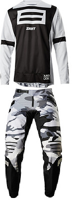 2018 Shift Black Label GI Fro Emig Pant & Jersey Riding Gear Combo Dirtbike Mx