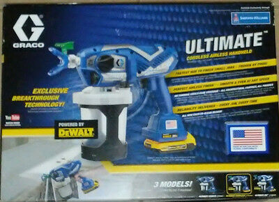 Graco - Ultimate Cordless Handheld Electric Airless Sprayer Mdl 17N164