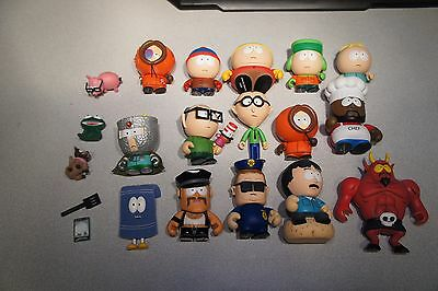 Kidrobot South Park Vinyl Figures Toys Collectibles LOOSE WITH BOX