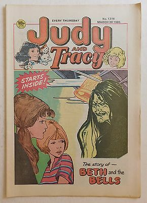 JUDY & TRACY Comic #1316 - 30th March 1985