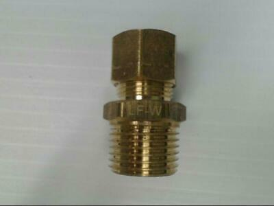 """Brass P-68-88-LF Tube to Male Straight Pipe 1/2"""" x 1/2"""" Adapter Fitting"""