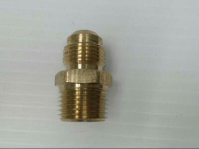 """Brass P-48-88 Hose Male to Male Straight Pipe 1/2"""" x 1/2"""" Adapter Fitting"""