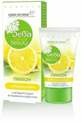 DEBA-BEAUTY Nourishing Face Cream Lemon Whitening Effect Normal&Dry Skin 50 ml.