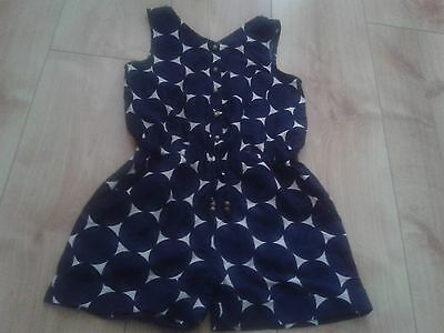 girls next lovely short playsuit age 6 years