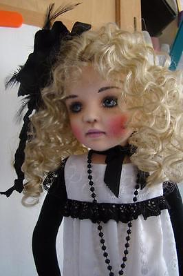 "CLOTH DOLL by ""JUDY RANKINE""  24 in. ""MILLIE"""