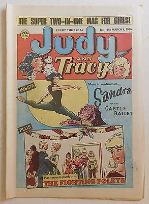 JUDY & TRACY Comic #1365 - 8th March 1986