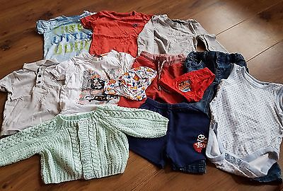 Baby Boys Clothes Bundle George Next Miniclub 12-18 months 1-1.5